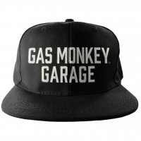 Gas Monkey Garage text snapback keps 1