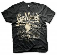 Gas Monkey Garage - Wrench Label t-shirt