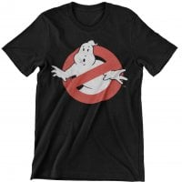 Ghostbusters Distressed Logo Barn T-Shirt
