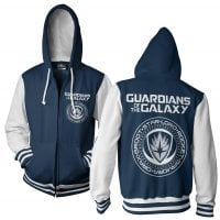 Guardians Of The Galaxy varsity zip hoodie 1