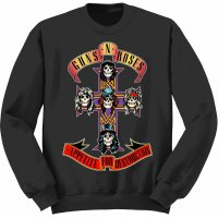 Guns n Roses sweatshirt barn: Appetite For Destruction fram
