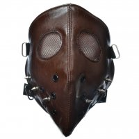 Hannibal Face Mask brun
