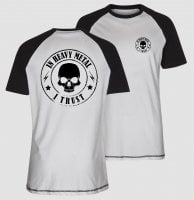 In heavy metal i trust baseball tee 1