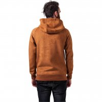 Imitation Suede Hoody 3