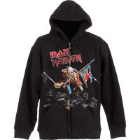 Iron Maiden Hoodie: Scuffed Trooper fram