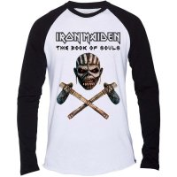 Iron Maiden longsleeve herr: Axe Colour