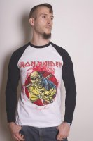 Iron Maiden longsleeve herr: Piece Of Mind modellbild