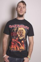 Iron Maiden t-shirt herr: Number Of The Beast Graphic