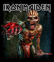 Iron Maiden t-shirt: Book of souls europe tour tryck fram