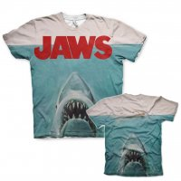 Jaws allover t-shirt dubbel