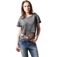 Ladies Cutted Cropped Tee 2