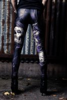 Skull leggings Cuts And Stitches