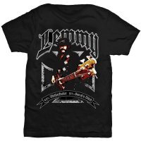 Lemmy t-shirt: 49% Motherfucker 51% Son of a bitch