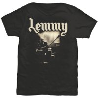 Lemmy t-shirt: Lived to win fram