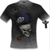 Live now die later t-shirt