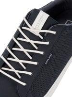 Marinblå sneakers syntetisk mocka - Skor - Herrkläder - Dunken.se abe3d63002ecd