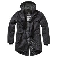 Marsh Lake Teddyparka svart