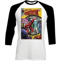 Marvel longsleeve herr: Daredevil Comic