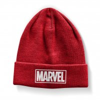 Marvel Red Logo Beanie