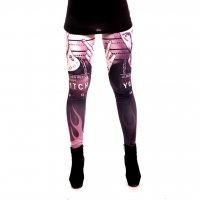 Meth man leggings rosa 2
