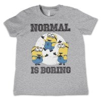 Minions - Normal Life Is Boring Barn T-shirt 2