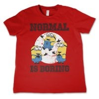 Minions - Normal Life Is Boring Barn T-shirt 3
