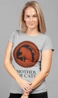 Mother Of Cats grå t-shirt