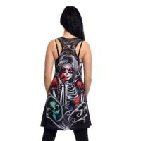 Muerte snow dress 2