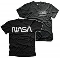 NASA black flag T-shirt svart