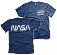 NASA black flag T-shirt 5