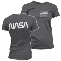 NASA black flag tjej T-shirt