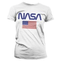 NASA - Old Glory Girly Tee Vit
