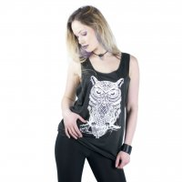 Night Raven Head Vest Fram