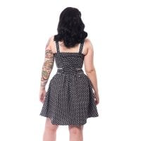 Nina Dress black polka 2