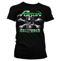 Poison Tjej T-shirt - Hollywood Skull