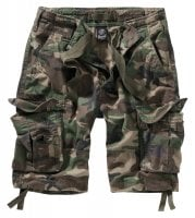 Pure Vintage Shorts wood camo