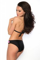 Svartvit push-up bikini bak 3