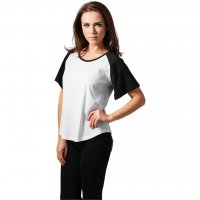 Ladies Raglan HiLo Tee 3