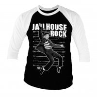 Elvis Presley - Jailhouse Rock Baseball 3/4 Sleeve Tee