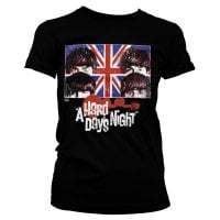Beatles A Hard Days Night Girly Tee