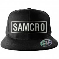 SAMCRO Embroidered Snapback Cap