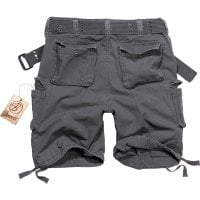 Savage vintage shorts anthrazit bak