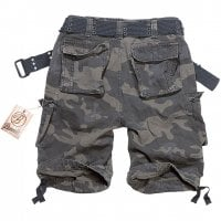 Savage vintage shorts darkcamo bak