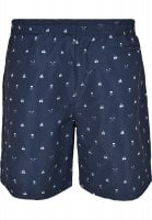 Skull and yacht AOP badshorts 3
