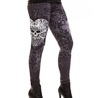 Skull duggery leggings 2