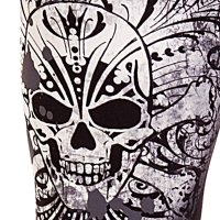 Skull duggery leggings