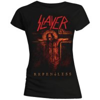 Slayer t-shirt dam: Repentless Crusifix