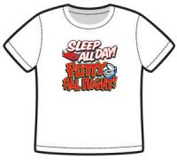 sleep all day t-shirt barn