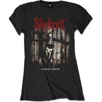 Slipknot t-shirt dam: Grey Chapter Album