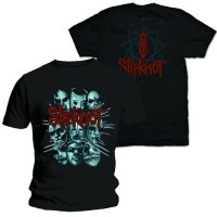 Slipknot t-shirt: Masks 2
